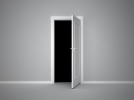 ID-10023038 White Door by nattavut