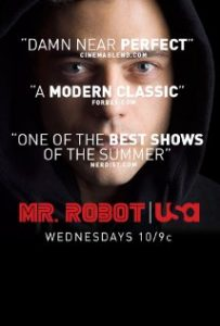 Mr. Robot poster from imbd.com