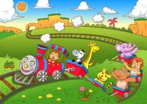 """Cute Animals Train"" Image courtesy of AKARAKINGDOMS at FreeDigitalPhotos.net"