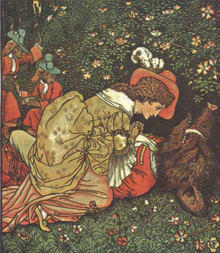 By Walter Crane - Beauty and the Beast. London: George Routledge and Sons, 1874., Public Domain, https://commons.wikimedia.org/w/index.php?curid=761414
